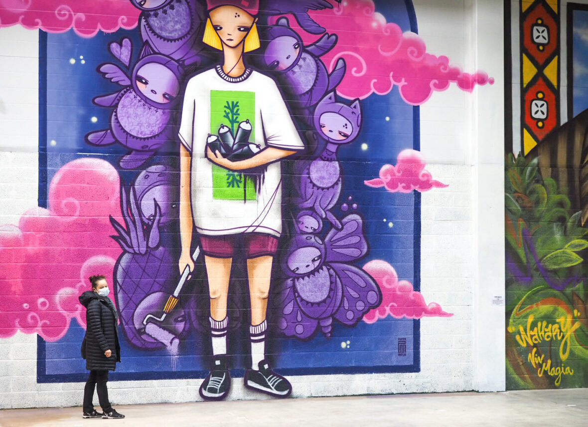 Concreate Urban Art Festival on läpileikkaus kaupunkitaidetta